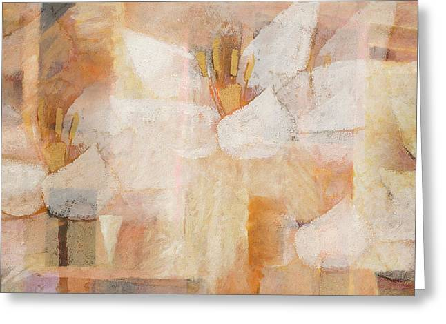 Imagination Greeting Cards - Floral Imagination Greeting Card by Lutz Baar