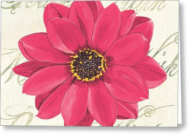 Renewing Greeting Cards - Floral Inspiration 3 Greeting Card by Debbie DeWitt