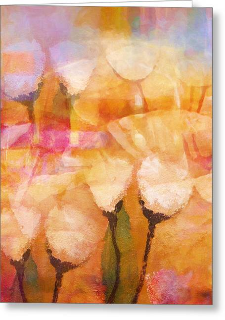 Floral Structure Greeting Cards - Floral Poetry Greeting Card by Lutz Baar