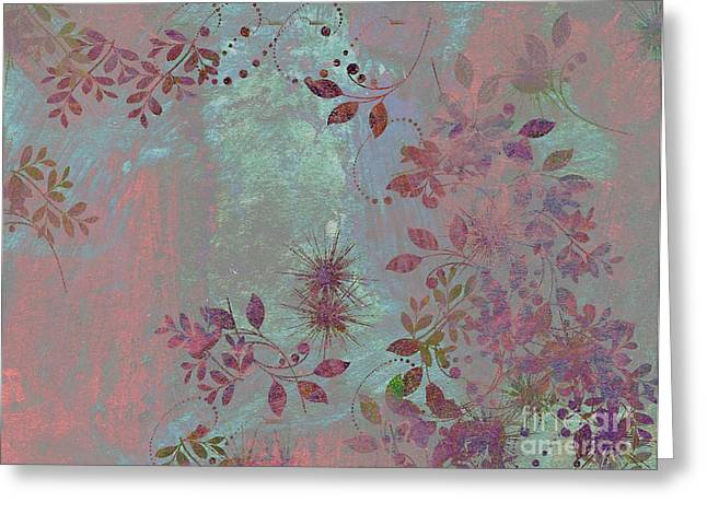 Floralities - 11c98t01 Greeting Card by Variance Collections