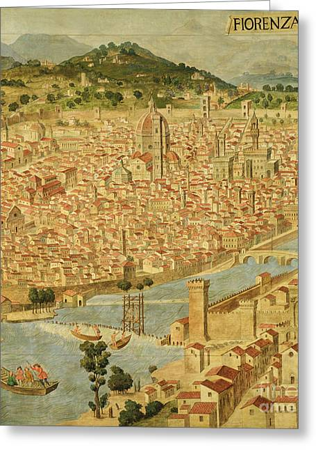 Florence  Carta Della Catena Greeting Card by Italian School