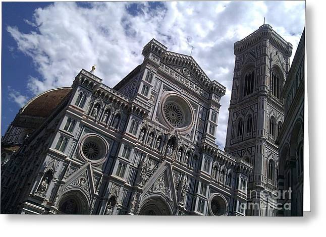Ted Williams Greeting Cards - Florence Cathedral  Greeting Card by Ted Williams
