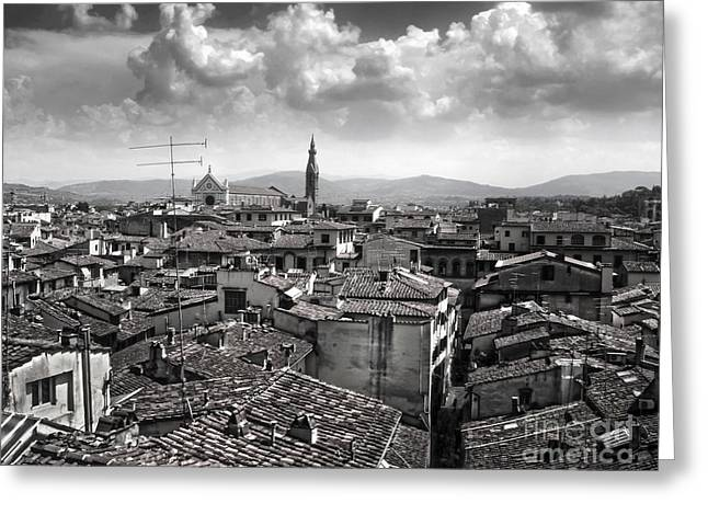 Gregory Dyer Greeting Cards - Florence Italy - 01 Greeting Card by Gregory Dyer