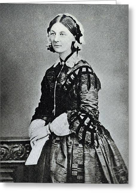 Florence Nightingale Greeting Card by Library Of Congress