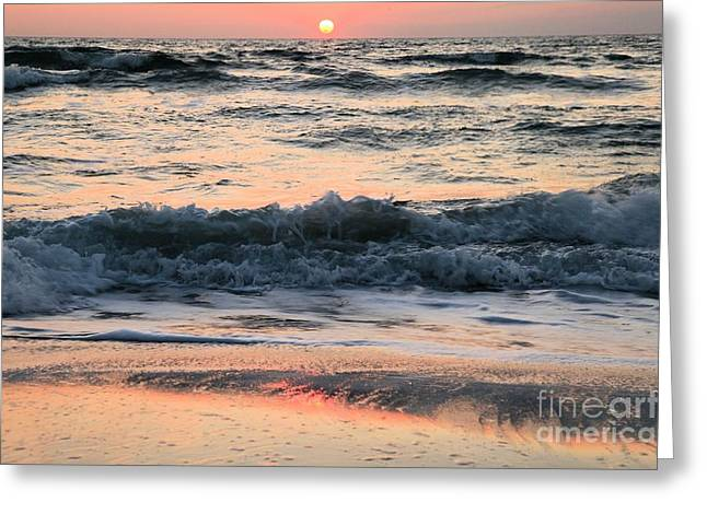 Pristine Beaches Greeting Cards - Florida Pastels Greeting Card by Adam Jewell