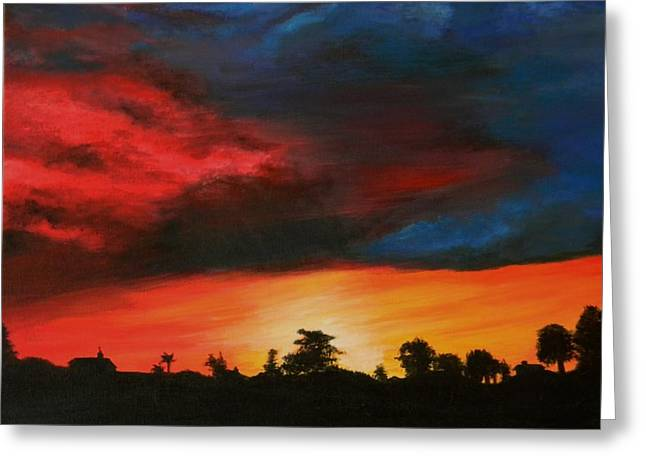 Lisa Bentley Greeting Cards - Florida Sunset Greeting Card by Lisa Bentley