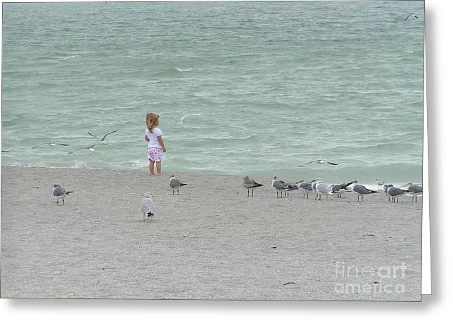 Beach Pastels Greeting Cards - Florida Greeting Card by Tracy L Teeter