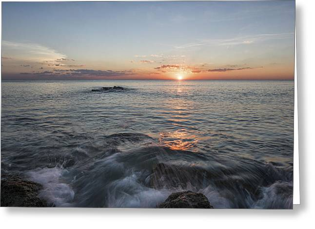 Fine Art Photography Galleries Greeting Cards - Floridas Last Moment Greeting Card by Jon Glaser