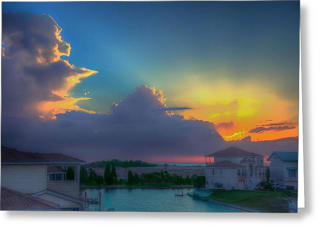 Florida House Greeting Cards - Floridian Fantasy Greeting Card by Mountain Dreams