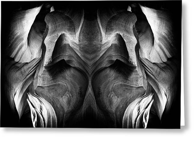 Grey Scale Greeting Cards - Flow and Ebb Greeting Card by Paul W Faust -  Impressions of Light
