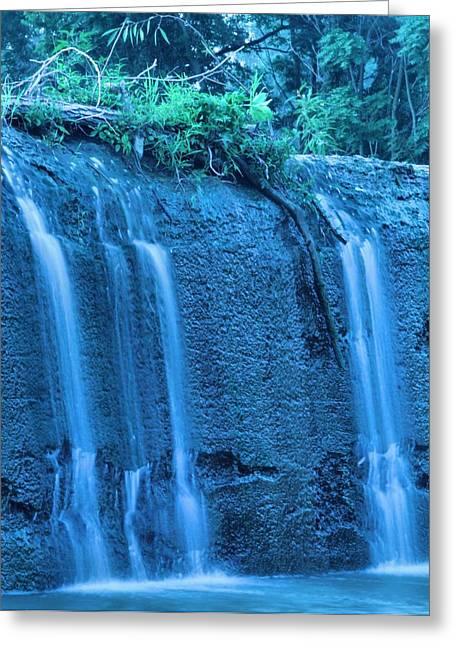 Hydration Greeting Cards - Flow Greeting Card by Dan Sproul