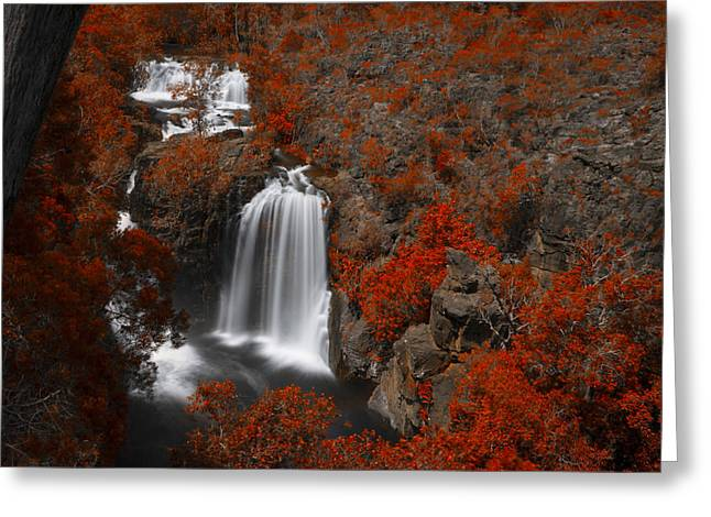 Top-end Greeting Cards - Flow V3 Greeting Card by Douglas Barnard