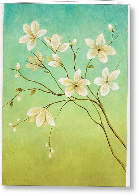 Esteban Greeting Cards - Flower 1 Greeting Card by Pablo Esteban