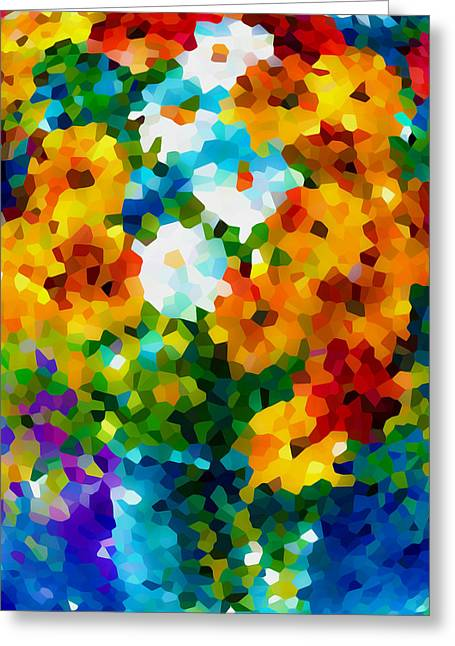 Blossom Greeting Cards - Flower 3 Greeting Card by Lanjee Chee
