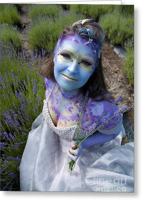 Third Estate Greeting Cards - Flower Fairy Greeting Card by Graham Foulkes