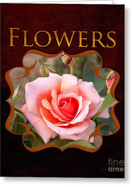 Owner Greeting Cards - Flower Gallery Greeting Card by Iris Richardson
