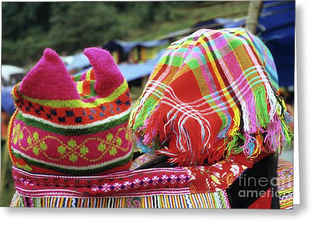 Ethnic Minority Greeting Cards - Flower Hmong Baby 05 Greeting Card by Rick Piper Photography
