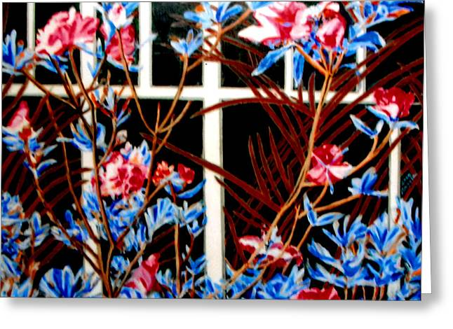 Recently Sold -  - Bloosom Greeting Cards - Flower in Bloom Greeting Card by Angela Tsang