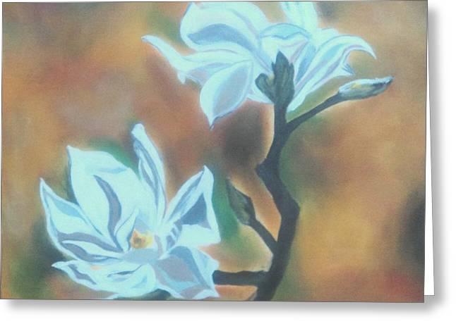 Flower Greeting Card by Jyoti Vats