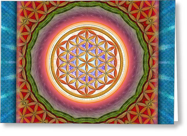 Energize Digital Greeting Cards - Flower OF Live - Liberation Greeting Card by Dirk Czarnota