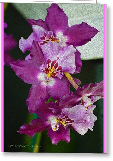 Flower Of Magnificence  Greeting Card by Sonali Gangane