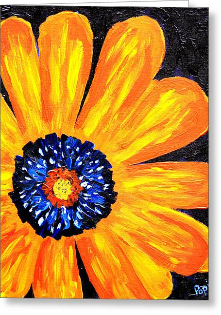 Flower Power 2 Greeting Card by Paul Anderson