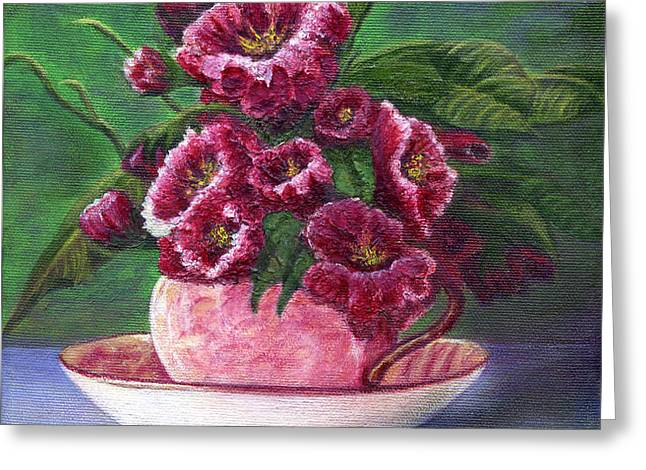 Flower Song  Greeting Card by Catherine Howard