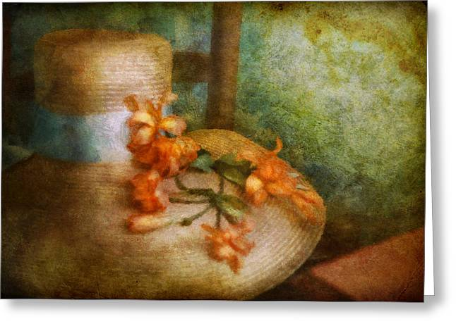 Spring Fashion Greeting Cards - Flower - Still - Spring fashion Greeting Card by Mike Savad