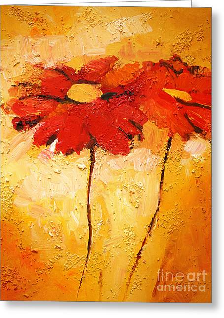Baar Greeting Cards - Flowerimpression Greeting Card by Lutz Baar