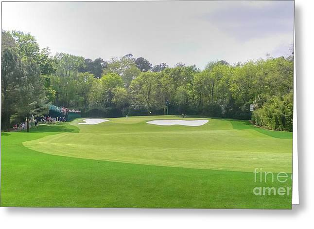 Golf Tournaments Photographs Greeting Cards - Flowering Crabtree Greeting Card by David Bearden