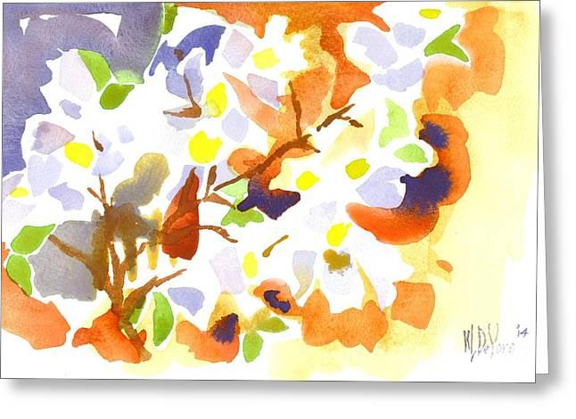 Loose Greeting Cards - Flowering Dogwood II Greeting Card by Kip DeVore