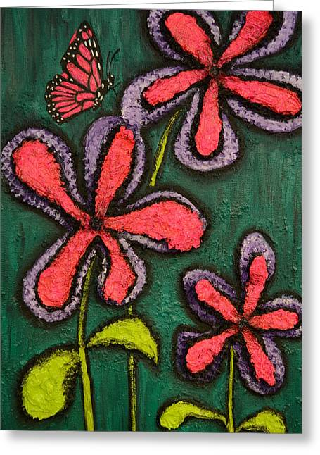 Flowers 4 Sydney Greeting Card by Shawn Marlow