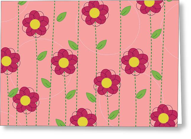 Flowers Greeting Card by Christy Beckwith