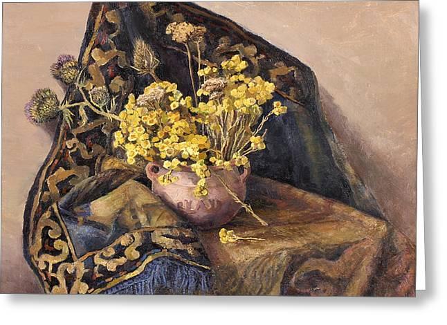 Flowers immorteles Greeting Card by Meruzhan Khachatryan
