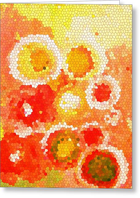 Patio Decor Greeting Cards - Flowers IV Greeting Card by Patricia Awapara