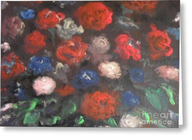 Recently Sold -  - Laurie D Lundquist Greeting Cards - Flowers Greeting Card by Laurie D Lundquist