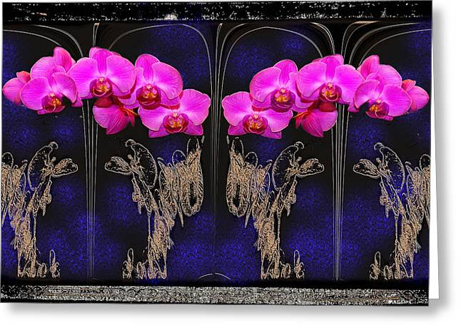Artistic Photography Greeting Cards - Altered Manipulated Flower Artwork Greeting Card by Constance Lowery