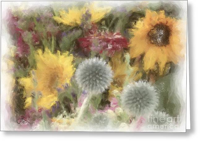 Buy Local Greeting Cards - Flowers of Summer 879 20140731 Greeting Card by Julie Knapp