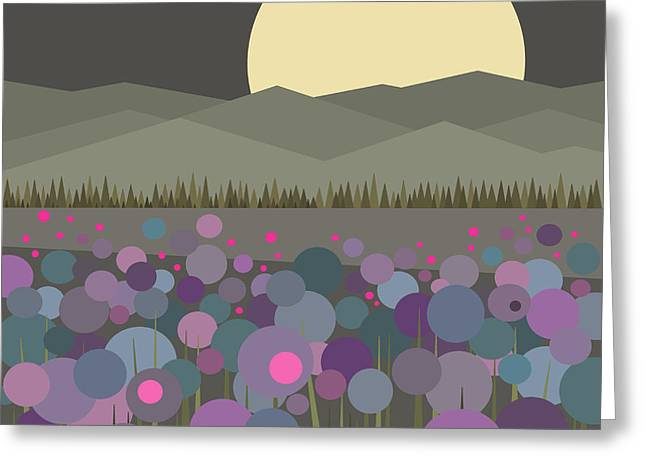 Muted Palette Greeting Cards - Flowers Still Blooming Greeting Card by Val Arie