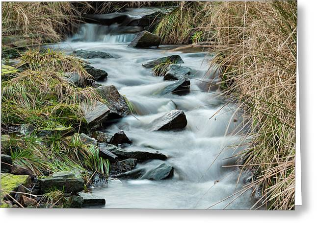 Dreamy Greeting Cards - Flowing Through The Countryside. Greeting Card by Daniel Kay