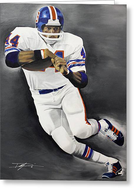 Floyd Little Greeting Card by Don Medina
