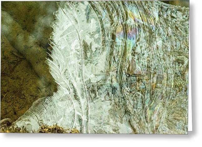 Trepidation Greeting Cards - Fluid Wave Phenomenon Greeting Card by Douglas Barnett