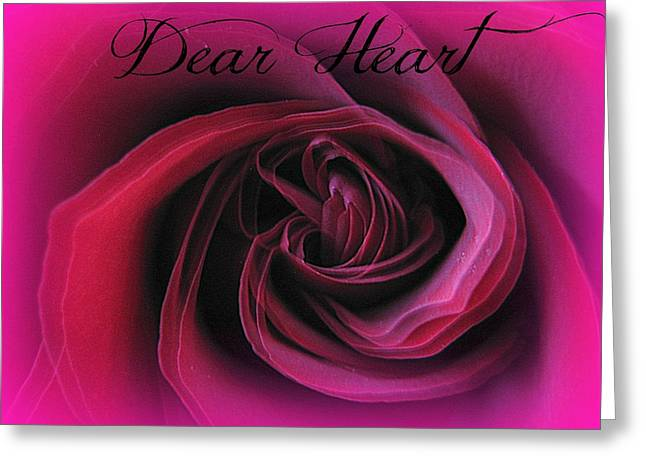 Rose Greeting Cards - Fluttering Heart Greeting Card by Shirley Sirois