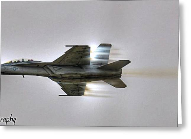 Airshow Greeting Cards - Fly-by Greeting Card by Dado Molina