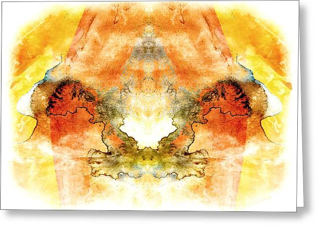 Fly To The Sun Greeting Card by Melissa Bittinger