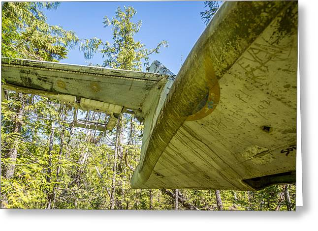 Pby Catalina Greeting Cards - Flying Boat Wreck Greeting Card by Mike Houghton BlueMaxPhotography