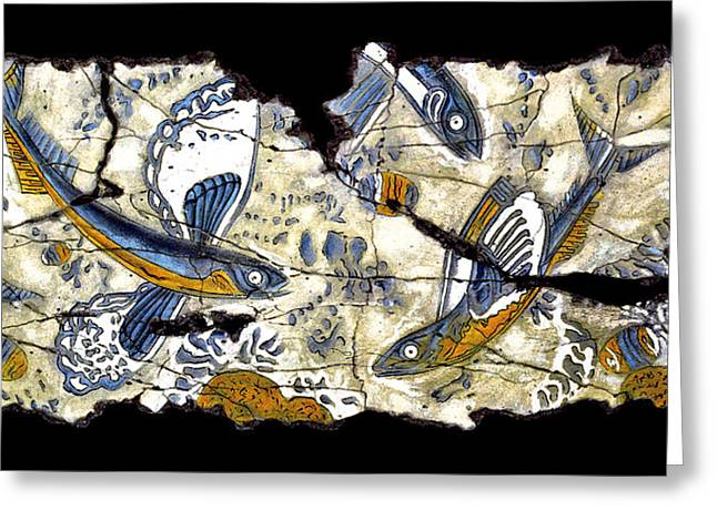 Flying Fish Greeting Cards - Flying Fish No. 3 Greeting Card by Steve Bogdanoff