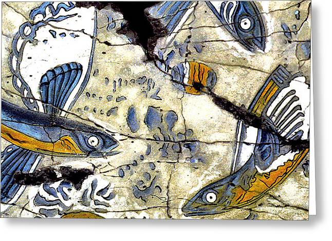 Flying Fish No. 3 - Study No. 2 Greeting Card by Steve Bogdanoff