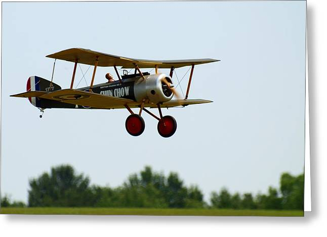 Flying Rc Greeting Card by Thomas Young