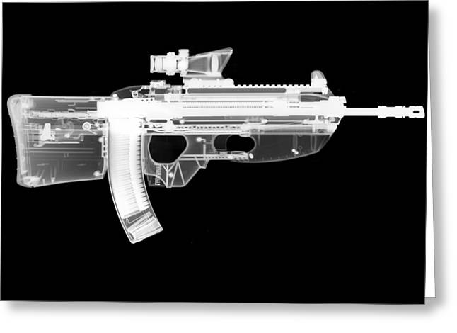 Guns Photographs Greeting Cards - Fn Fs2000 Greeting Card by Ray Gunz